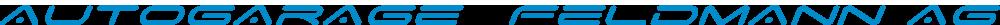 Logo Autogarage Feldmann AG